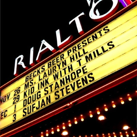 Photo taken at The Rialto Theatre by David T. on 11/27/2012
