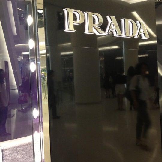 Photo taken at Prada by Chariya P. on 10/16/2012