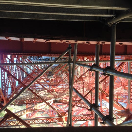 Photo taken at Vista Point by Jono S. on 10/21/2012