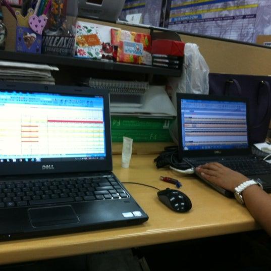 Photo taken at Globe Telecom IT Plaza by Chala Mae B. on 12/17/2012