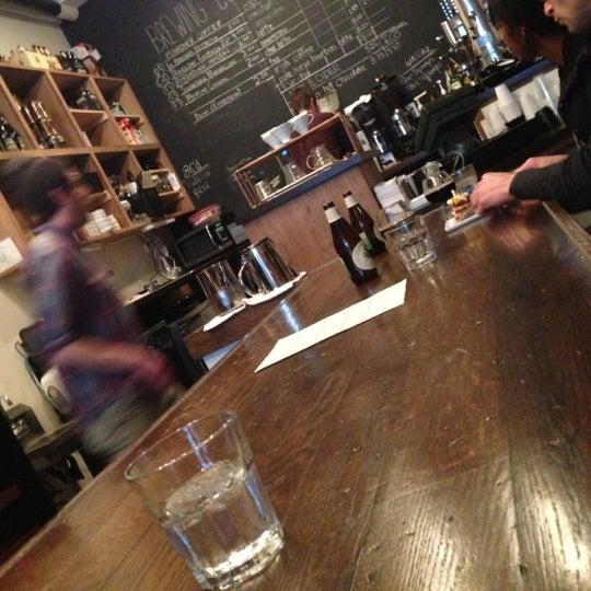 Photo taken at 1215 Wine Bar & Coffee Lab by Joshua M. on 1/13/2013