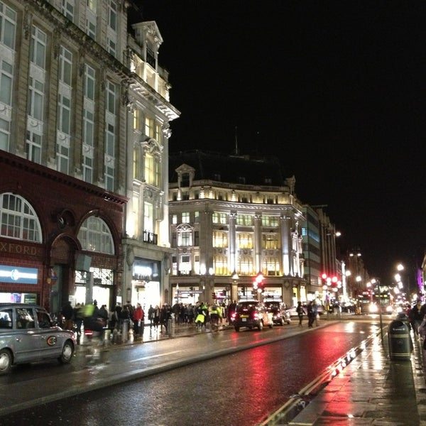 Photo taken at Oxford Street by Elena S. on 1/28/2013
