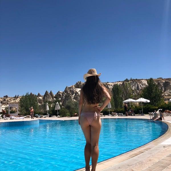 8/16/2018 tarihinde Анна К.ziyaretçi tarafından Tourist Hotels & Resorts Cappadocia'de çekilen fotoğraf