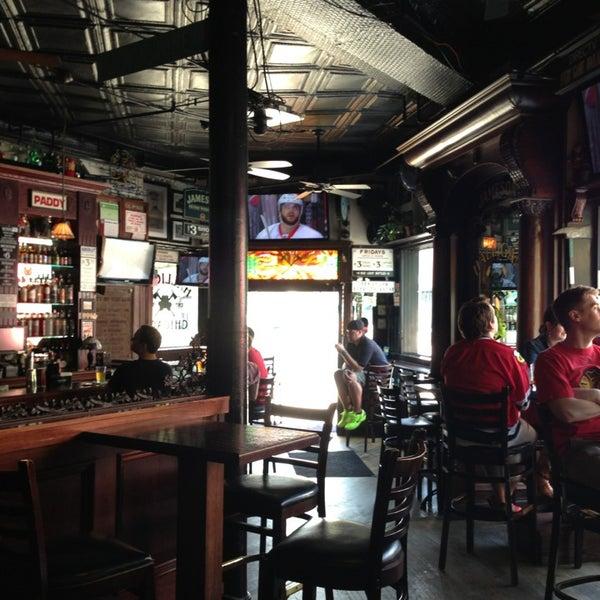 Photo taken at Halligan Bar by Charlie K. on 5/18/2013