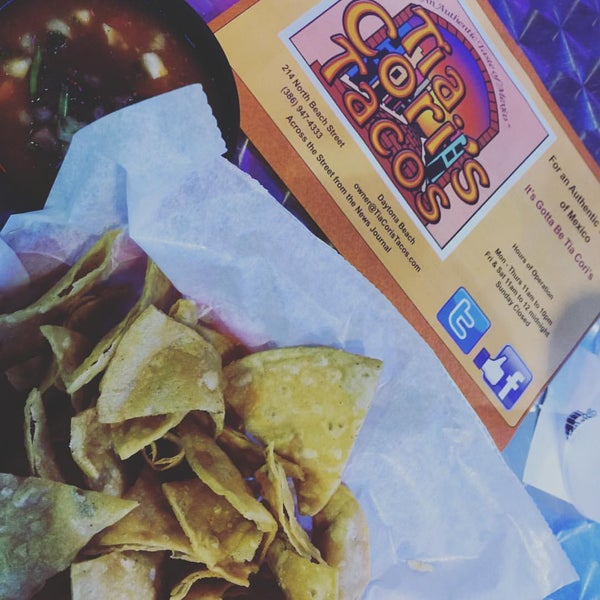 Photo taken at Tia Cori's Tacos by Andy L. on 8/27/2016