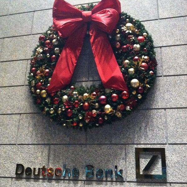 Photo taken at Deutsche Bank by Andy L. on 12/13/2012