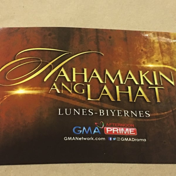 Photo taken at GMA Network Center by Ruel M. on 10/25/2016