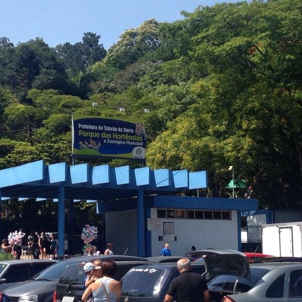Photo taken at Parque das Hortênsias by Fabiano M. on 11/16/2014