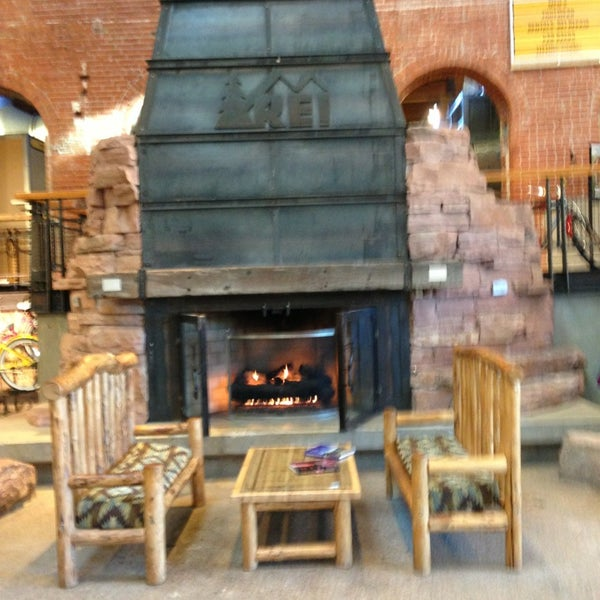 This is one of a few flagship stores across North America. Check out the endless options and the sick 30 foot fireplace!
