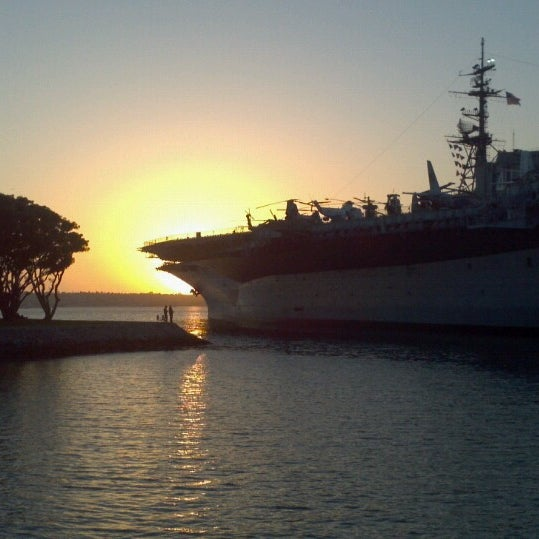 Photo taken at USS Midway Museum by Kelly-Ann P. on 5/2/2013
