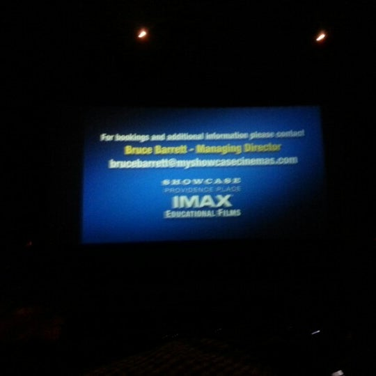 Photo taken at Showcase Providence Place & IMAX by Chris L. on 12/29/2012