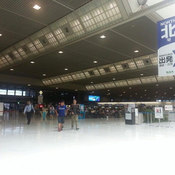 Photo taken at Narita International Airport (NRT) by Julia K. on 7/22/2013