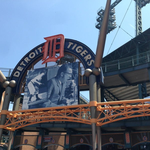 Photo taken at Comerica Park by Christian Y. on 6/23/2013