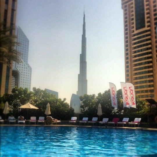 Photo taken at Shangri-La Hotel by Casie M. on 11/14/2012