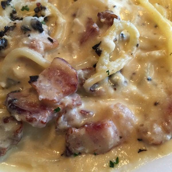 Das Foto wurde bei cucina italiana aria von John W. am 3/16/2015 aufgenommen