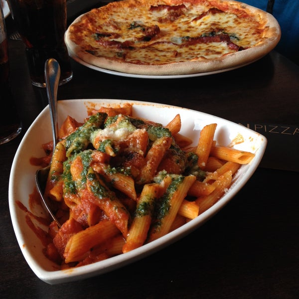 Photo taken at Very Italian Pizza by Irina C. on 3/7/2015