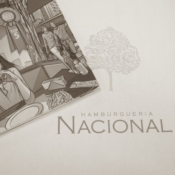 Photo taken at Hamburgueria Nacional by Vanessa B. on 12/17/2012
