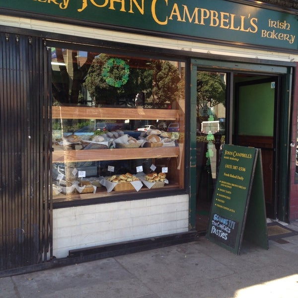 Photo taken at John Campbell's Irish Bakery by Christine S. on 6/29/2014