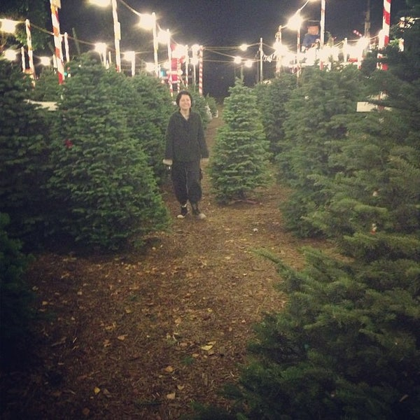 Photo taken at Clancy's Christmas Trees by Tom F. on 11/27/2012