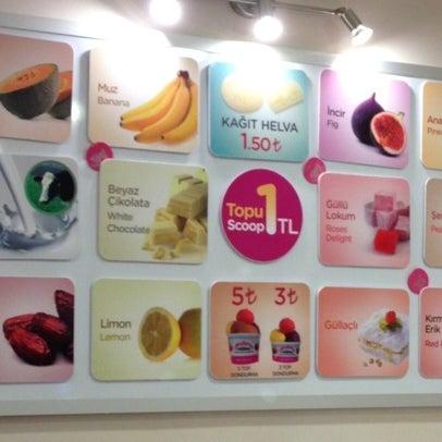 7/22/2013 tarihinde 🇷🇺OLYA ✈.ziyaretçi tarafından Dondurma Dükkanı'de çekilen fotoğraf