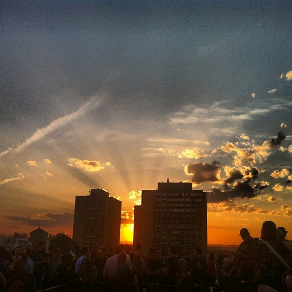 Photo taken at Meetup HQ Roof Deck by Leigh A. on 5/17/2013