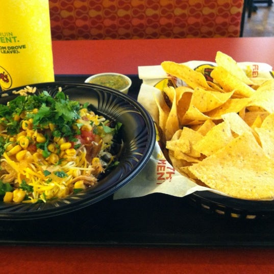 Photo taken at Moe's Southwest Grill by Austin J. on 10/11/2012