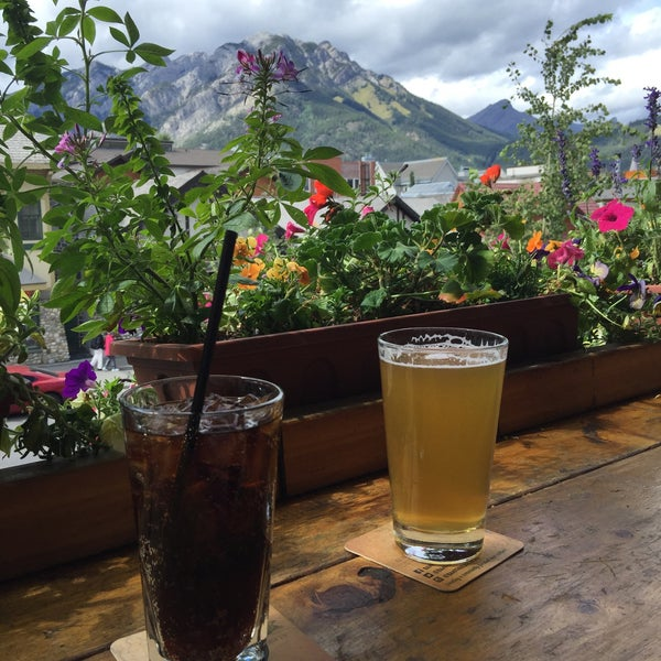 Photo taken at Banff Avenue Brewing Co. by David W. on 9/1/2015