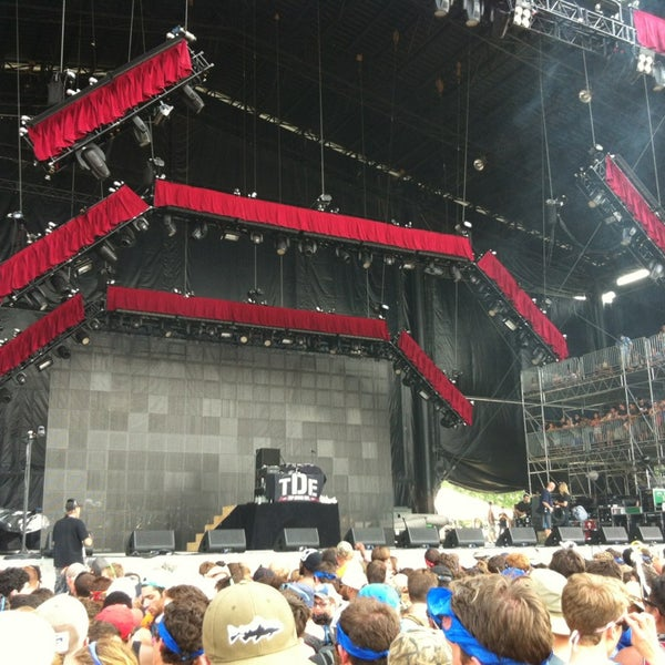 Photo taken at What Stage at Bonnaroo Music & Arts Festival by Drew S. on 6/16/2013