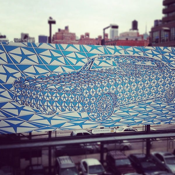 Photo taken at High Line 10th Ave Amphitheatre by Philippe D. on 10/8/2012