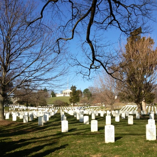 Photo taken at Arlington National Cemetery by Jacqueline W. on 3/5/2013