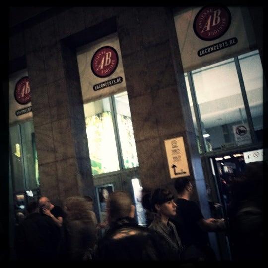 Photo taken at AB Ancienne Belgique by Mattias S. on 10/21/2012