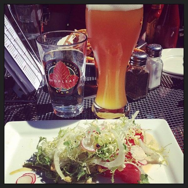 Photo taken at Hopleaf Bar by Alexandra W. on 8/14/2013
