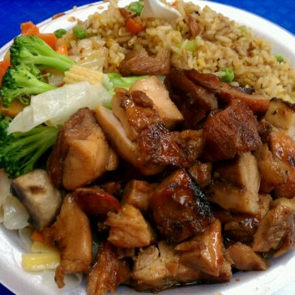 Cajun Cafe Food Court Bourbon Chicken