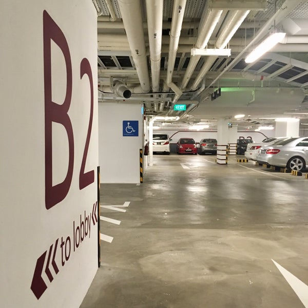Basement Car Park Design Part - 30: Photo Taken At Basement Car Park | Raffles Holland V By Gerard T. On 11