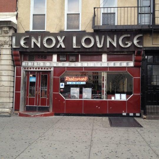 Photo taken at Lenox Lounge by Jasmin B. on 9/29/2012
