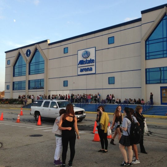 Photo taken at Allstate Arena by Amanda F. on 10/24/2012