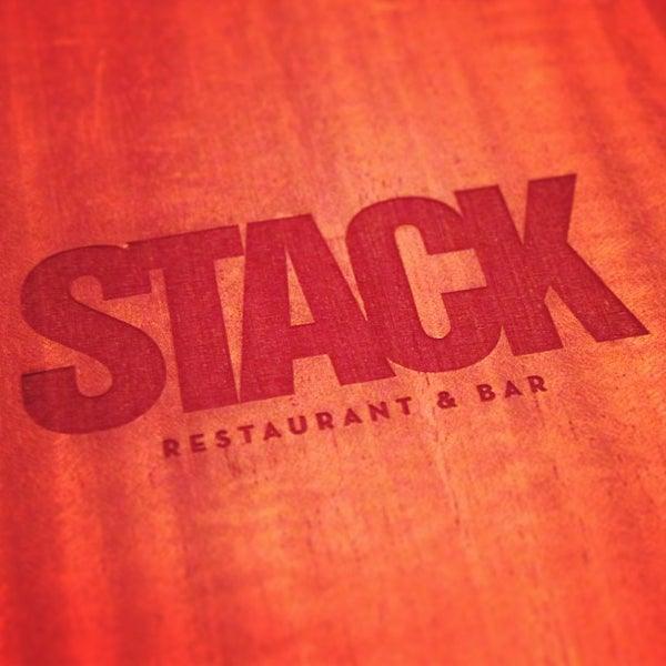 Photo taken at STACK Restaurant & Bar by Tyson N. on 1/24/2013