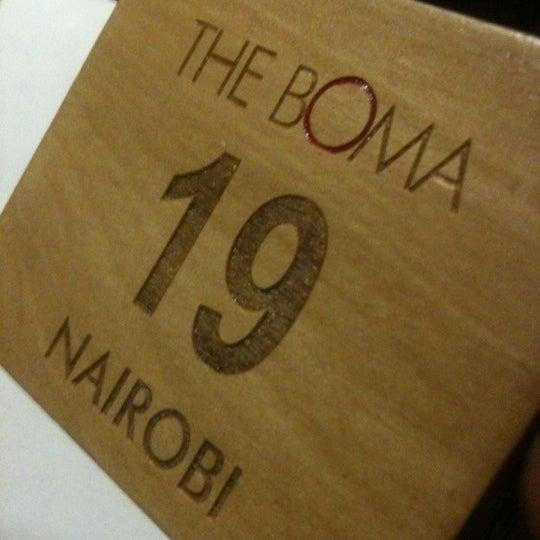 Photo taken at The Boma Hotel by Kariuki N. on 11/11/2012