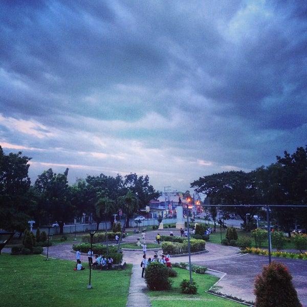 Photo taken at Maria Cristina Park by Jeremiah Eleazer S. on 9/18/2014