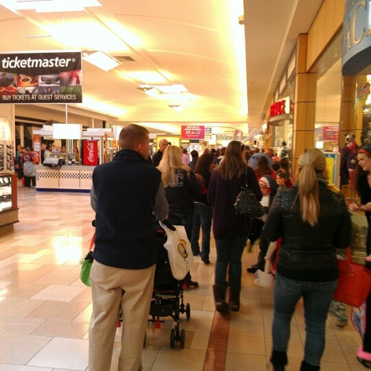 Photo taken at Ocean County Mall by Kate B. on 11/5/2012