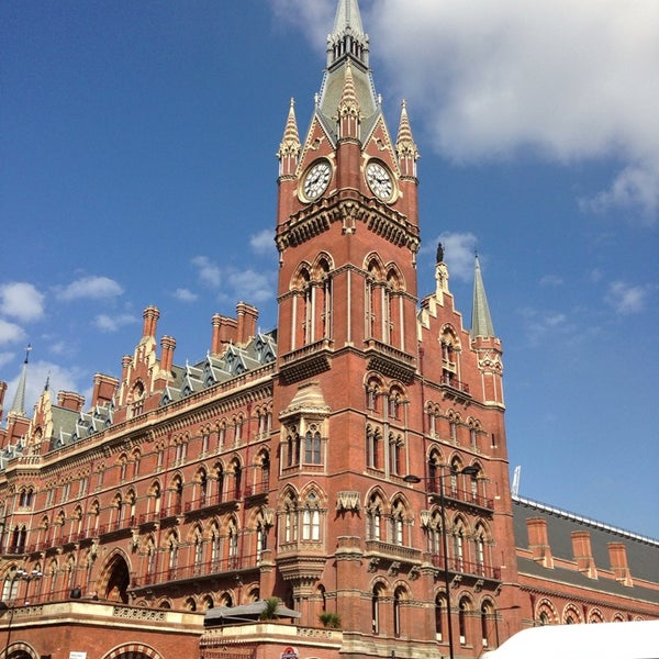 Photo taken at London St Pancras International Railway Station (STP) by mattia c. on 5/16/2013