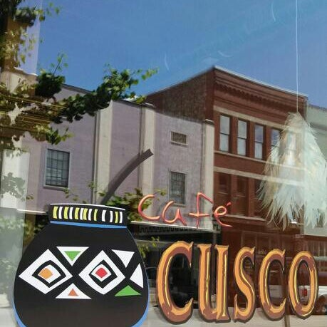 Photo taken at Cafe Cusco by Joseph G. on 12/9/2013