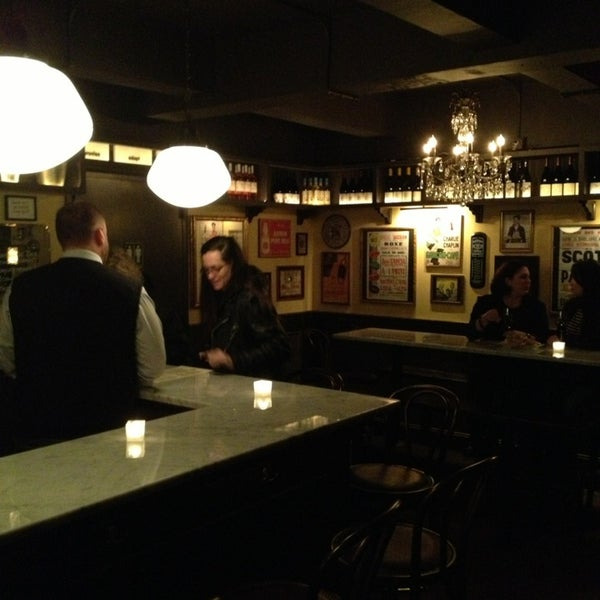 Photo taken at Vanguard Wine Bar by Stefan M. on 1/3/2013
