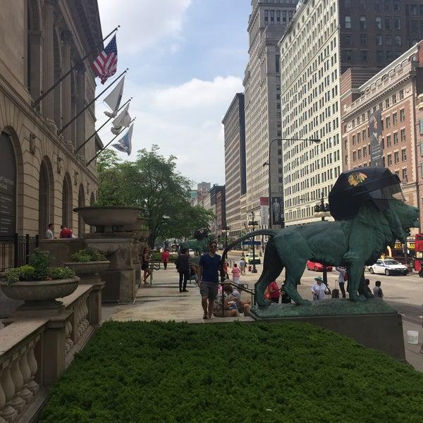 Photo taken at Sculpture Garden - Art Institute of Chicago by Sarah J. on 6/4/2015