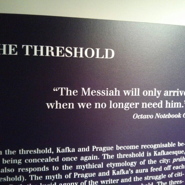 12/5/2013 tarihinde Kayıhan T.ziyaretçi tarafından Franz Kafka Museum'de çekilen fotoğraf