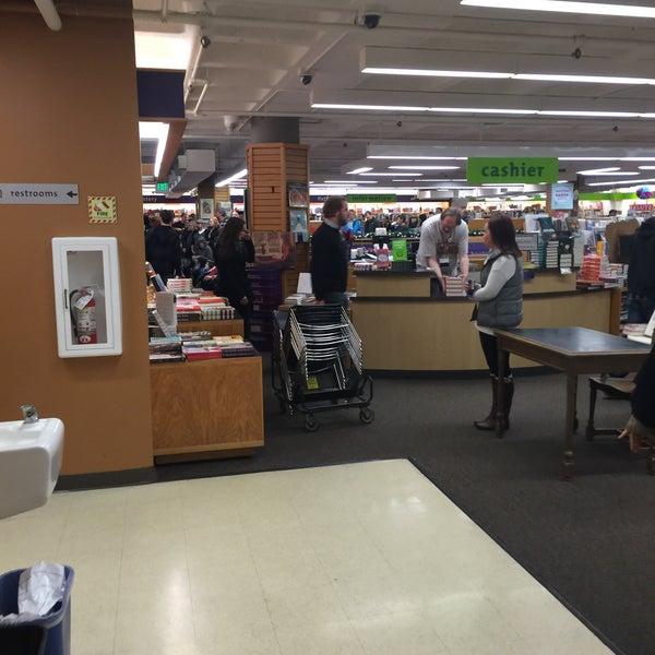 Photo taken at University Bookstore by Robert B. on 12/8/2015