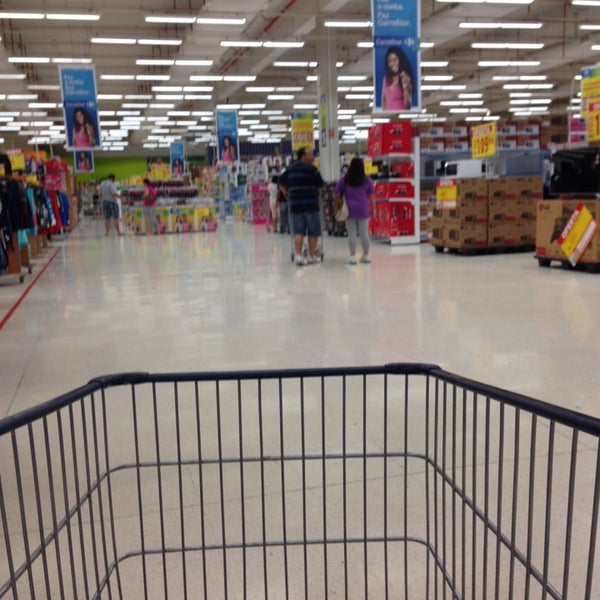 Photo taken at Carrefour by Jack U. on 1/12/2014