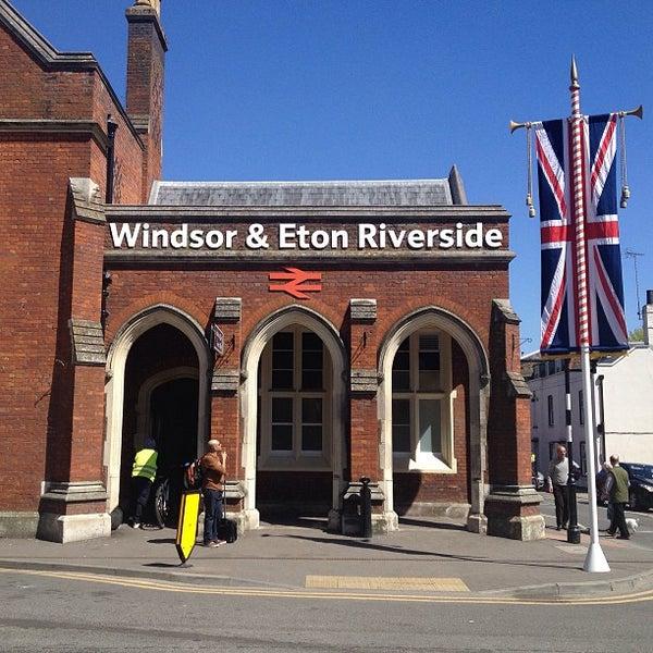 Windsor & Eton Riverside Station to Windsor Racecourse ...