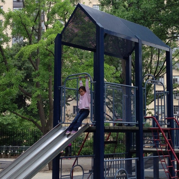 Photo taken at Central Park - Mariners' Gate Playground by Michael S. on 5/28/2014