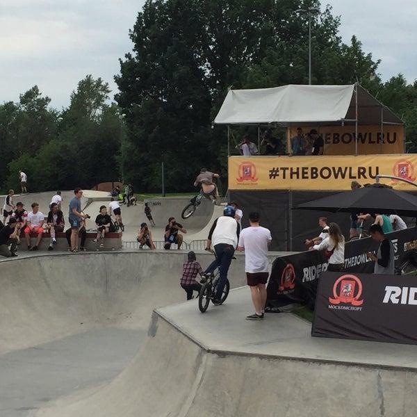 Das Foto wurde bei Скейт-парк «Садовники» von Dilshod I. am 6/18/2016 aufgenommen